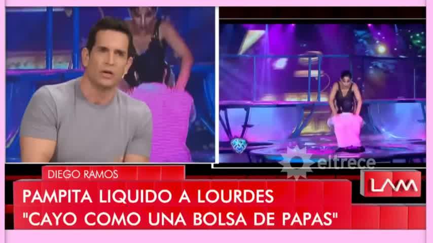 """LOURDES SÁNCHEZ LE DIJO \""""BOLSA DE CUERNOS\"""" A PAMPITA"""