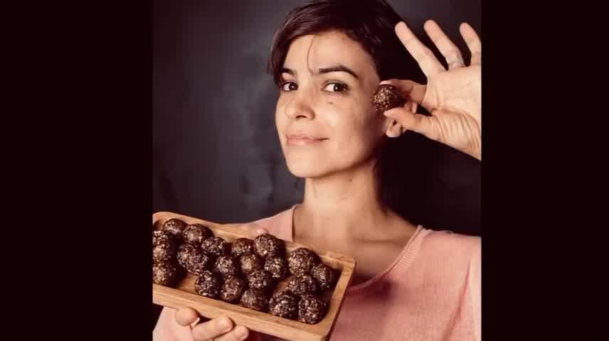 Agustina Cherri te enseña cómo hacer bombones saludables