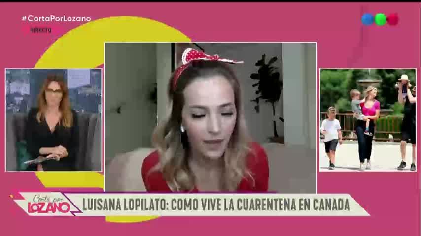 La organización de Luisana Lopilato y Bublé en cuarentena - Cortá por Lozano