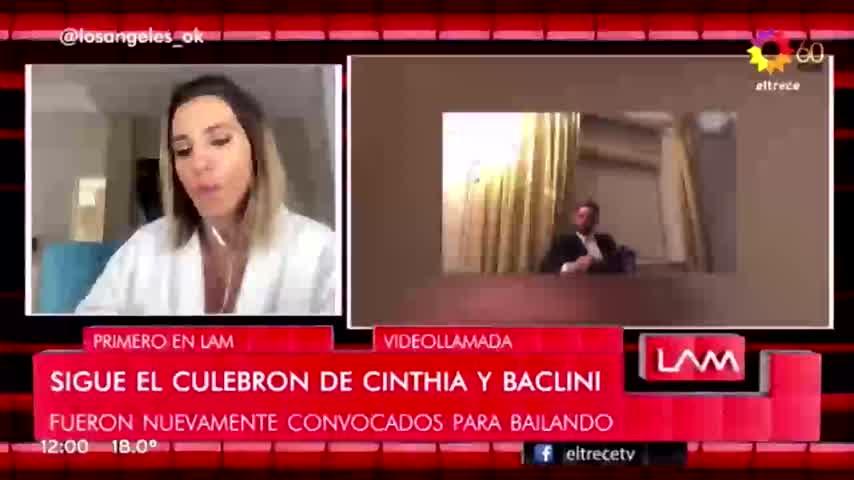 Cinthia habló de la posibilidad de reconciliación con Baclini