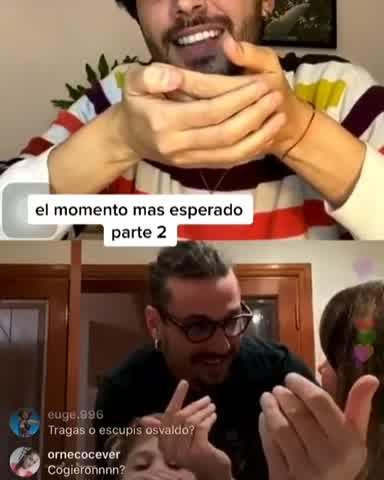 Daniel Osvaldo apareció en un vivo de Jimena Barón y estallaron las redes