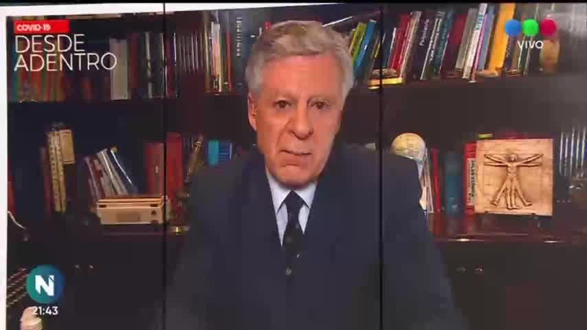 Cristina Pérez lloró en vivo en Telefe