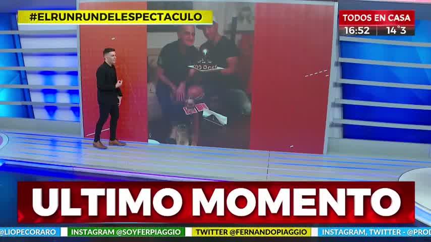 "Laurencio Adot se casa: \""Estoy armando mi familia\"""
