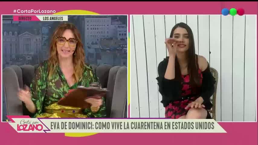 Eva de Dominici habla con Vero - Cortá por Lozano