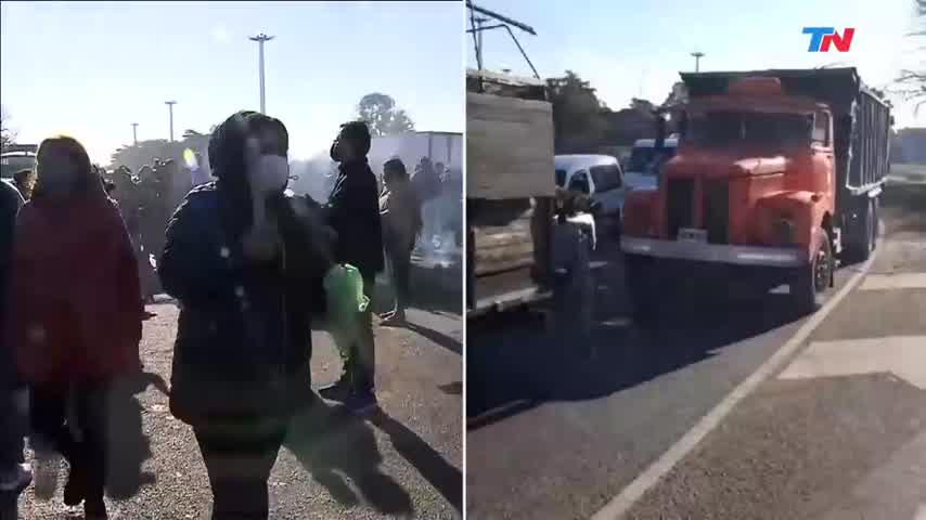 Intentaron asaltar a la periodista de TN Cecilia Insinga en una protesta para reclamar seguridad