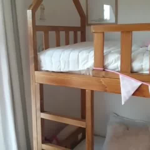 Mira cómo quedó el cuarto de Allegra y Sienna Cubero tras ser remodelado