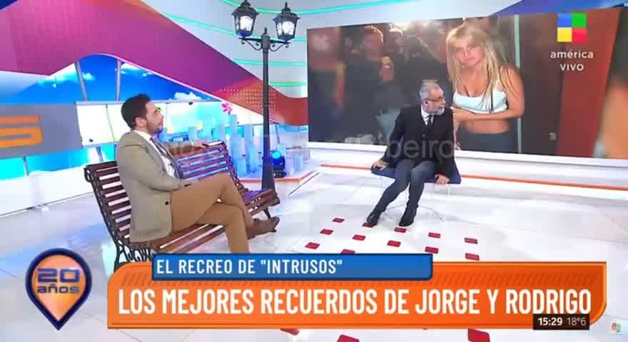 #Intrusos Jorge Rial ADMITE LA MENTIRA de Wanda