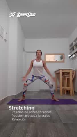 Stretching para aliviar el estrés