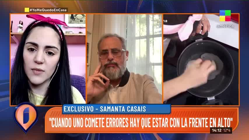 "Samanta Casais de Bake Off Argentina: \""Nunca sentí que estaba haciendo trampa\"""