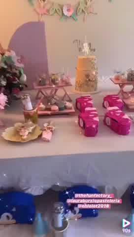 Así fue el festejo de cumpleaños de Rufina Cabré