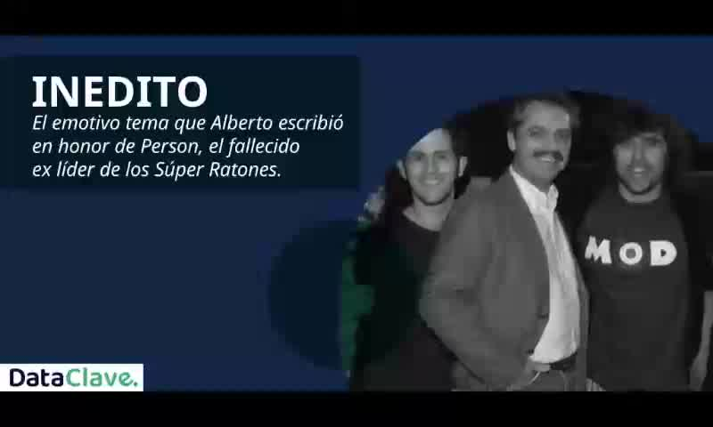 Alberto Fernández y su canción homenaje a su gran amigo Luis \'Person\' Properzi