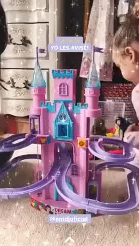 El soñado castillo de princesas de Rufina y Magnolia