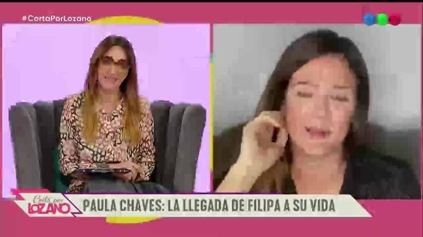 Madre de nuevo, Paula Chaves le contó todo a Vero - Cortá Por Lozano 2020