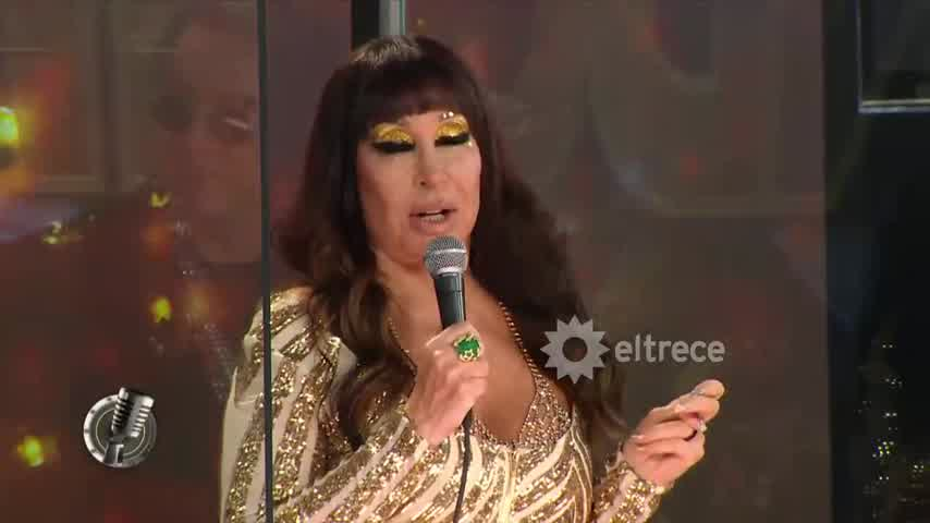 Moria Casán  incomodó a Laurita Fernández en el inicio de Cantando 2020