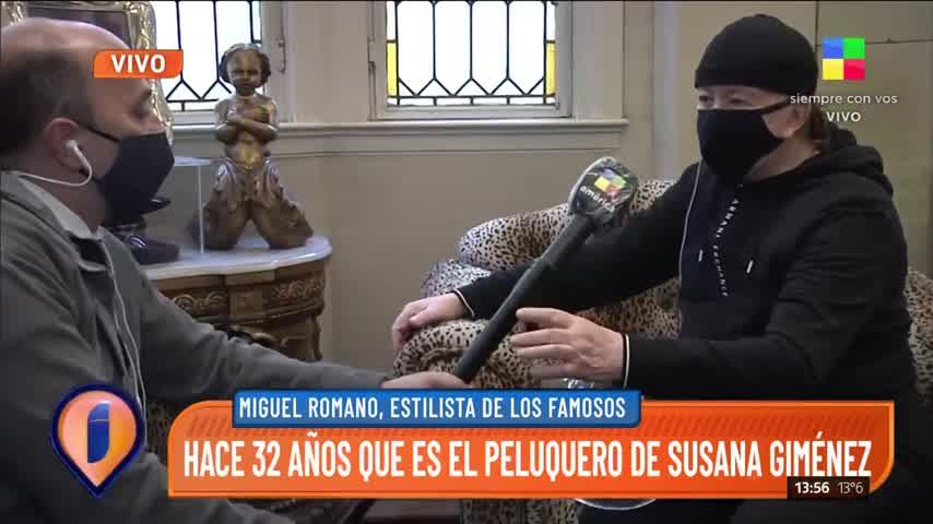 """Miguel Romano: \""""Me robaron muchas pelucas de Susana\"""""""