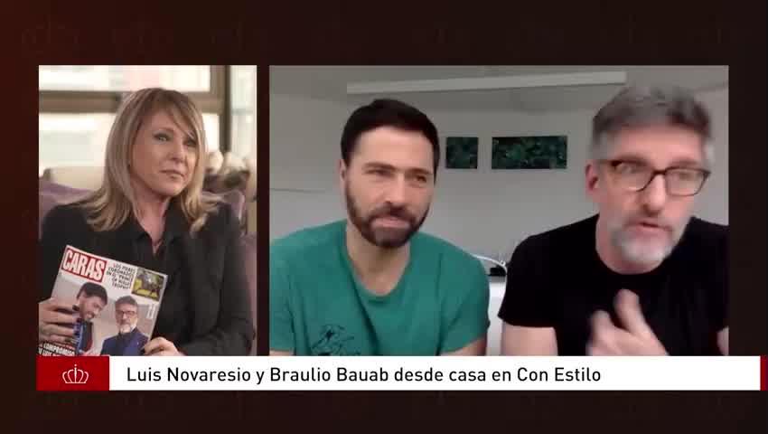 """Luis Novaresio y Braulio Bauab contaron como será su casamiento en \""""Con estilo\"""""""