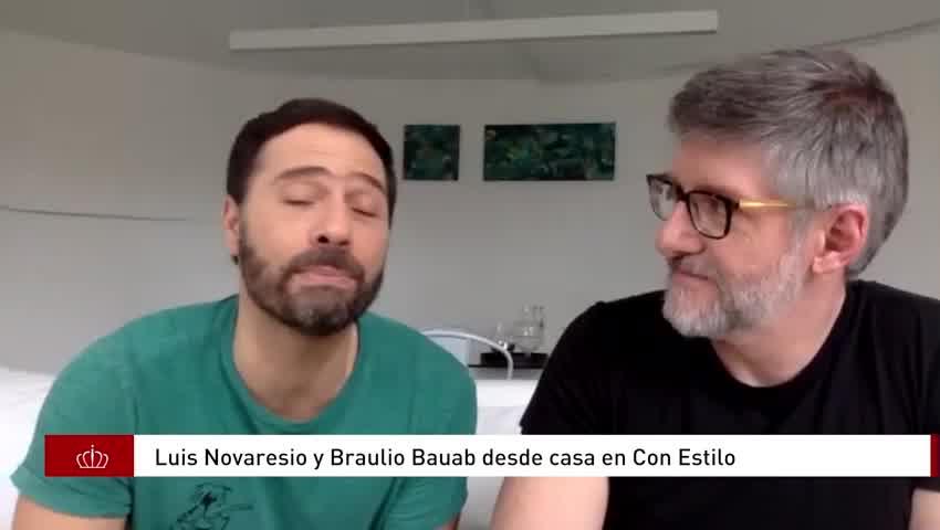 Luis Novaresio y Braulio Bauab contaron como será su casamiento