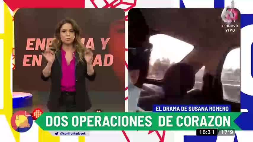El complicado estado de salud de Susana Romero