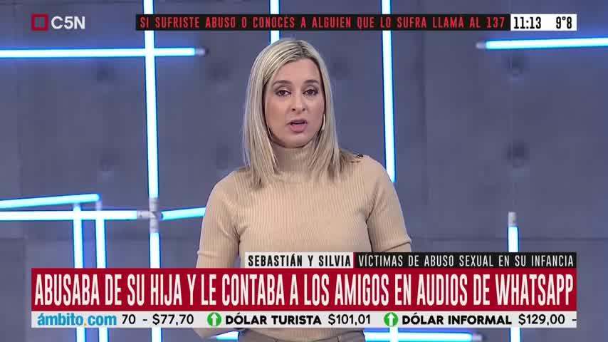 Mariela Fernández cuenta su historia de abuso sexual infantil