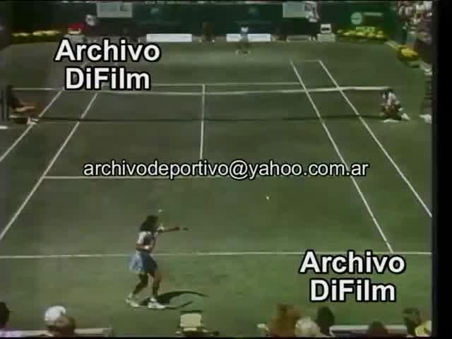 Tenis Reportaje a Juan Carlos Belfonte - DiFilm 1993