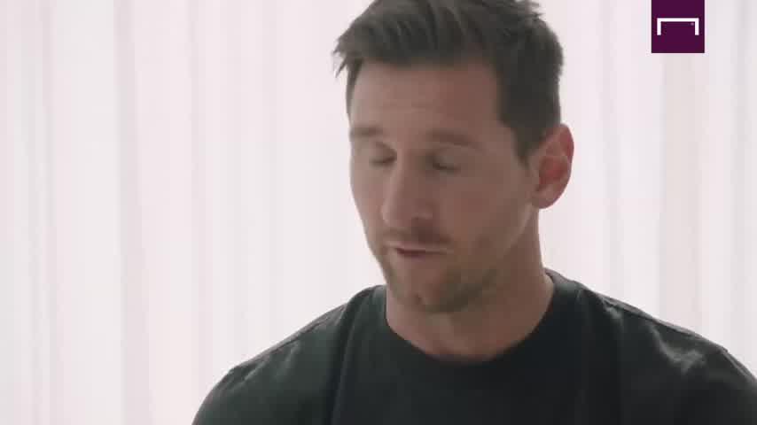 Entrevista a Messi en Goal