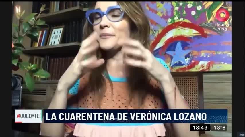 ¿Cuántas veces pensó Vero Lozano en dejar a su familia en cuarentena?