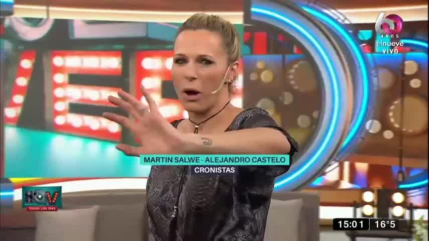 Cinthia Fernández destrozó a Martín Baclini