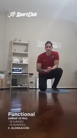 Entrená todos los músculos con Functional en casa