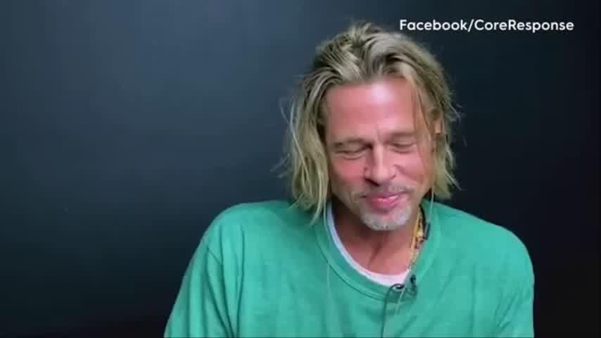 WATCH: Brad Pitt & Jennifer Aniston get flirty during \'Fast Times\' read