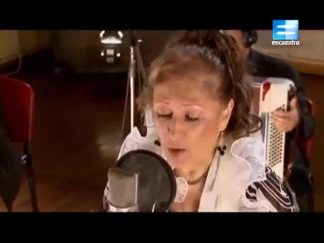 Ramona Galarza - Ah mi Corrientes porá - Encuentro en el estudio