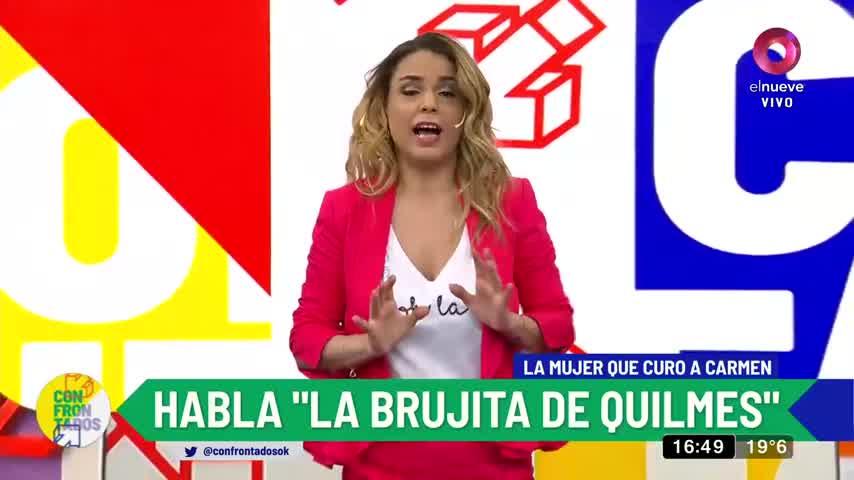 'La brujita de Quilmes', la mujer que curó a Carmen Barbieri