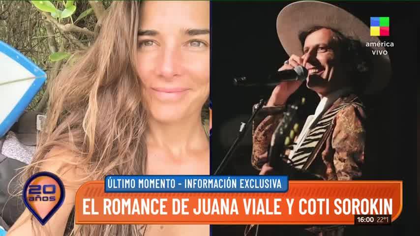 Romance inesperado: Juana Viale y Coti Sorokin, juntos