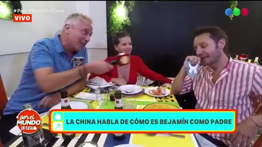 La China Suárez habló del problema de salud que presenta Benjamín Vicuña