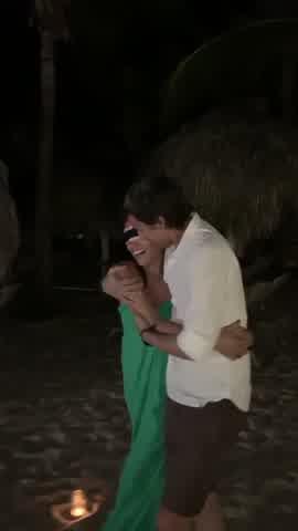 Así celebraron Pampita y Roberto su aniversario de compromiso