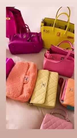 """Wanda Nara mostró colección de Chanel y Hermes \""""Birkin\"""" valuada en millones de euros"""