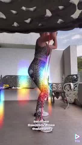 Así es la rutina fitness de la China Suárez