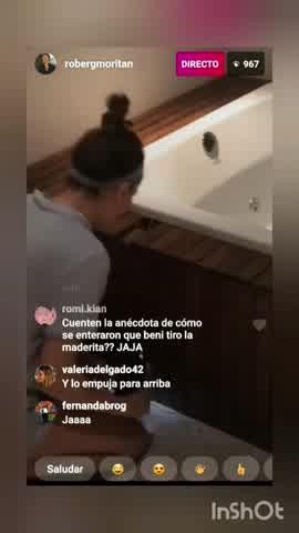 Roberto García Moritán escrachó a Pampita en un insólito desafío