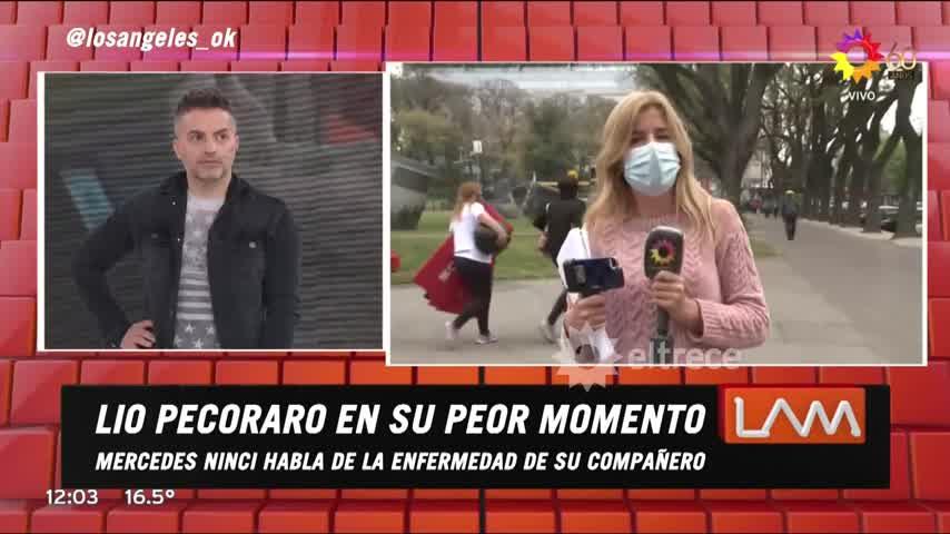 Mercedes Ninci fue sorprendida al aire cuando hablaron de sus gestos solidarios y terminó emocionada