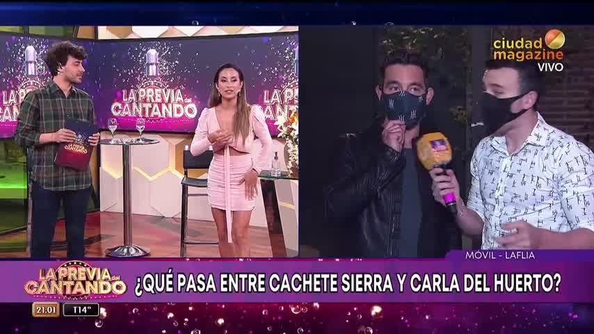 """Cachete Sierra contó que empezó una relación: \""""Con Carla del Huerto estamos conociendo\"""""""