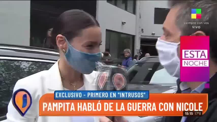 """Pampita hablo sobre la incorporación de Mica Viciconte a \""""Pampita online\"""" - Intrusos"""