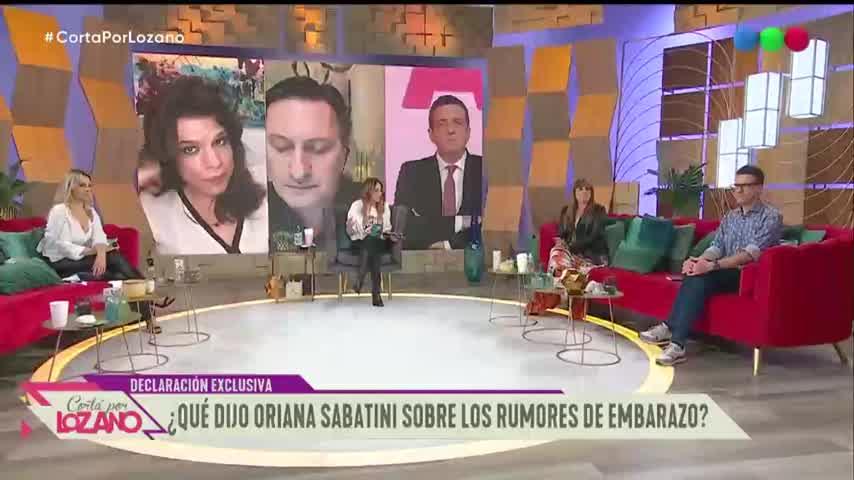 Oriana Sabatini y los rumores de embarazo