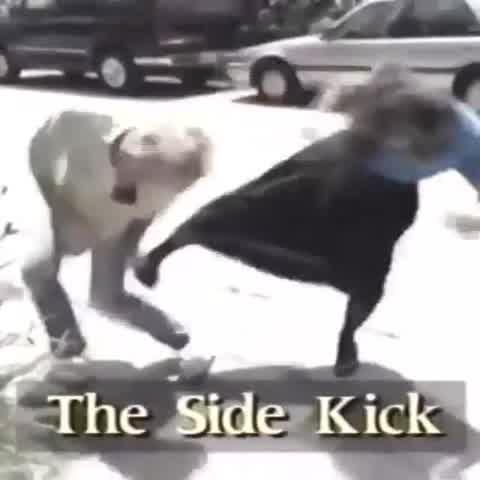 El video inédito de Kris Jenner aprendiendo defensa personal