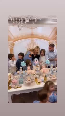 Toda la intimidad del lujoso cumpleaños de Isabella Icardi organizado por Wanda Nara