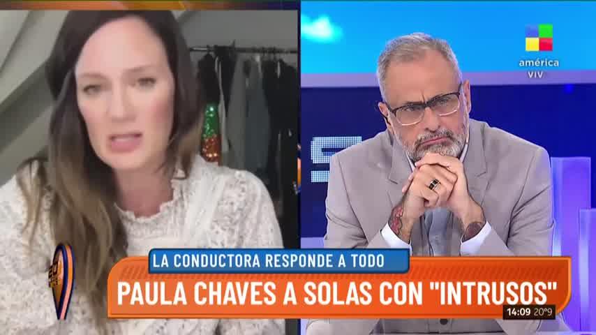 Paula Chaves habló de la salud de su hija Filipa
