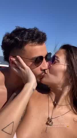 Ivana Nadal de vacaciones con su novio en Chaco