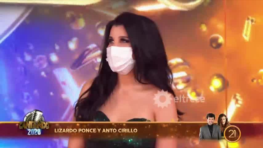 Lizardo Ponce enfrentó a Charlotte Caniggia por tratarlo de acomodado en Cantando 2020
