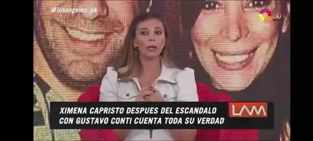 Ximena Capristo habló tras el escándalo con Gustavo Conti