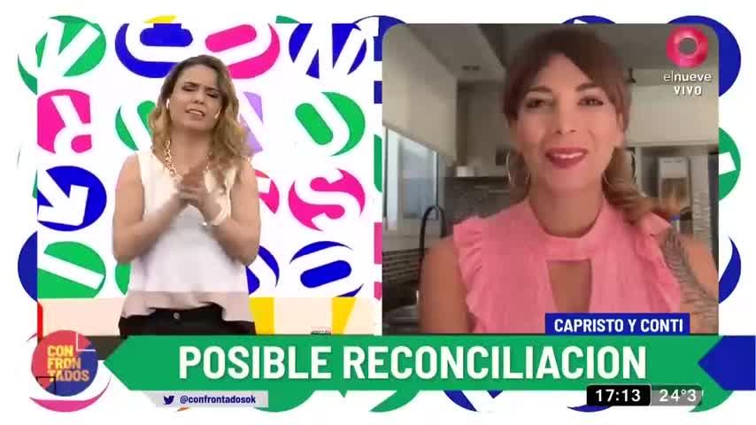 Ximena Capristo y Gustavo Conti: Nueva oportunidad para la pareja