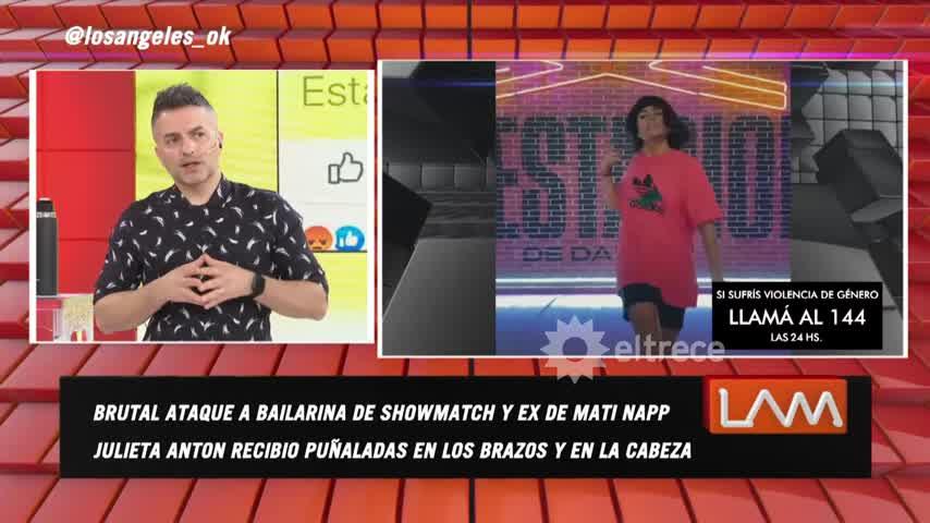 Así reaccionó Mati Napp al enterarse del ataque a Julieta Antón