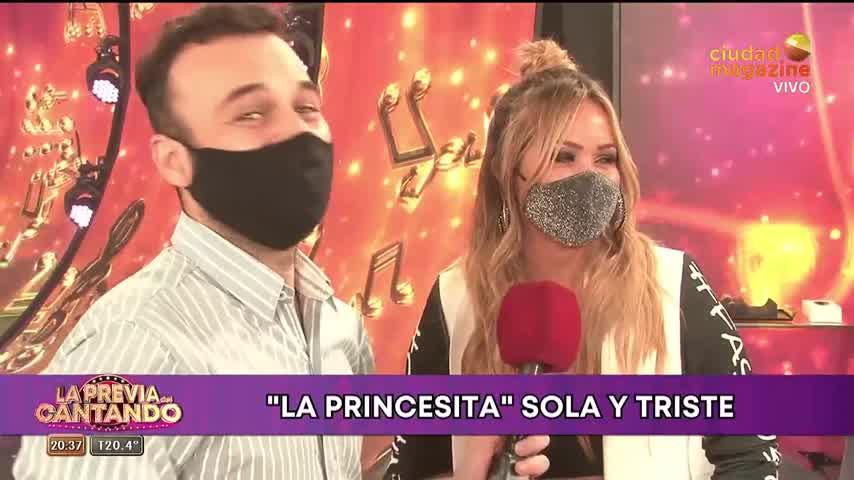 """Karina La Princesita abrió su corazón en La previa del Cantando: \""""Estoy triste, me siento muy sola\"""""""